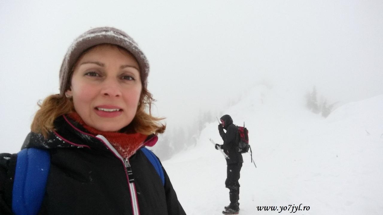 Momâi de zăpadă pe Vf. Postăvaru