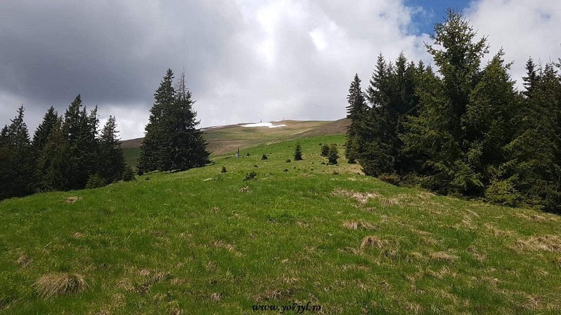 Ecou radio peste Munții Făgăraș