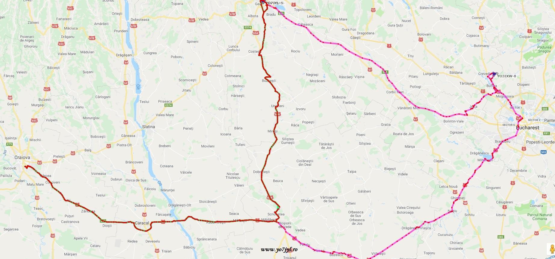 Aventura celor trei mușchetari radioamatori pe drumurile Băniei
