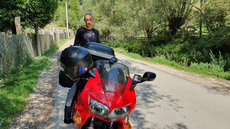 Hoinari cu motocicletele pe meleaguri brașovene