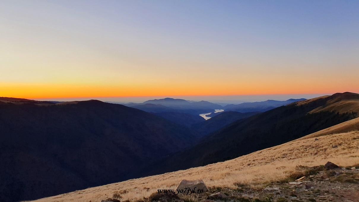 Poveste radioamatoricească din Munții Făgăraș spre Cozia