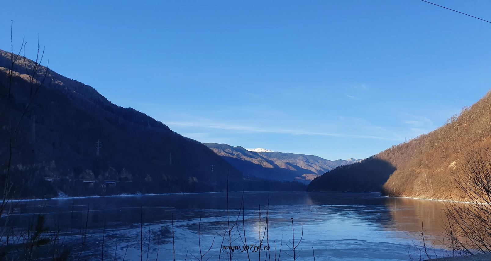 De iarnă de prin munții noștri