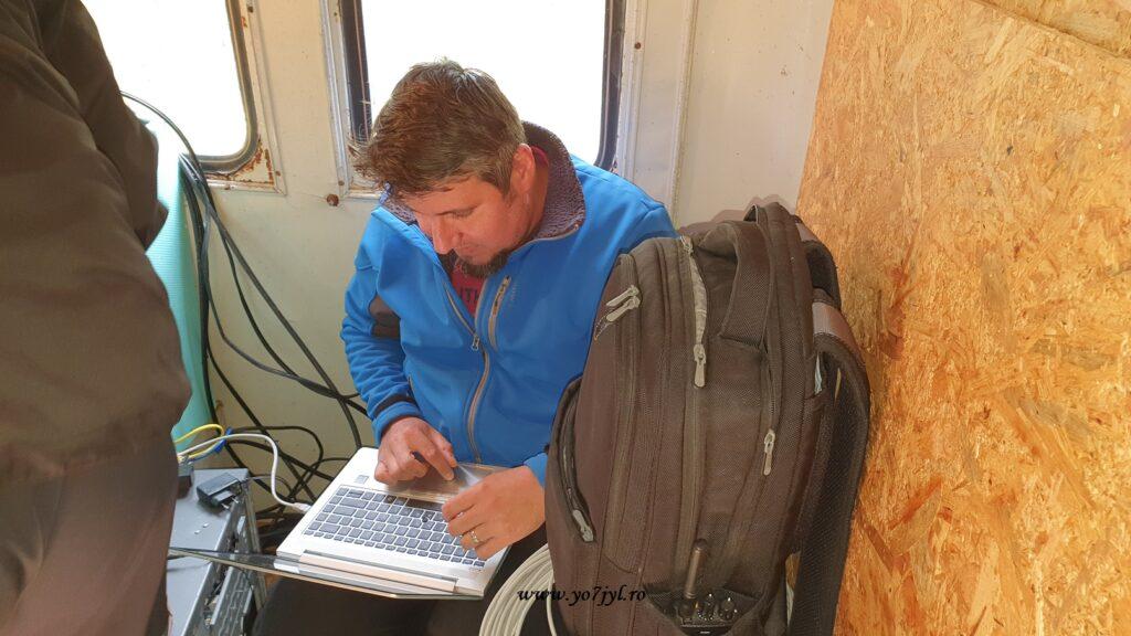Aventură radio la Repetorul RoLink Păltiniș