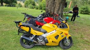 rima vacanță pe motocicletă