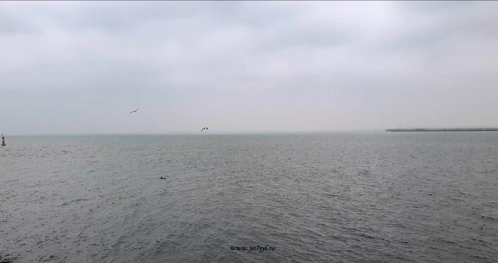 Un popas ruginiu lângă țărmul Mării Negre